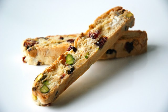 Cranberry, White Chocolate and Toasted Pistachio Biscotti ...
