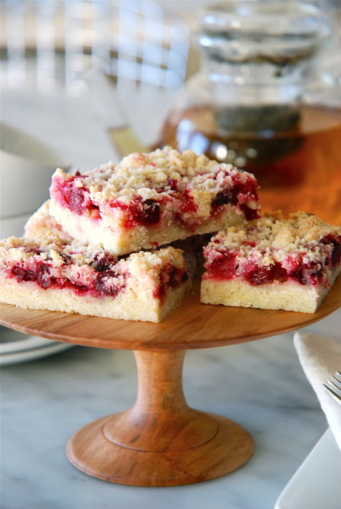 Cranberry and Lemon Crumb Bars | Kitchen Culinaire