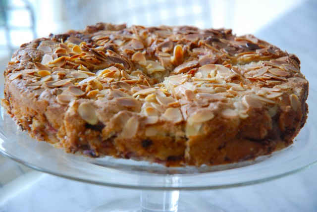 French Rhubarb Cake Kitchen Culinaire