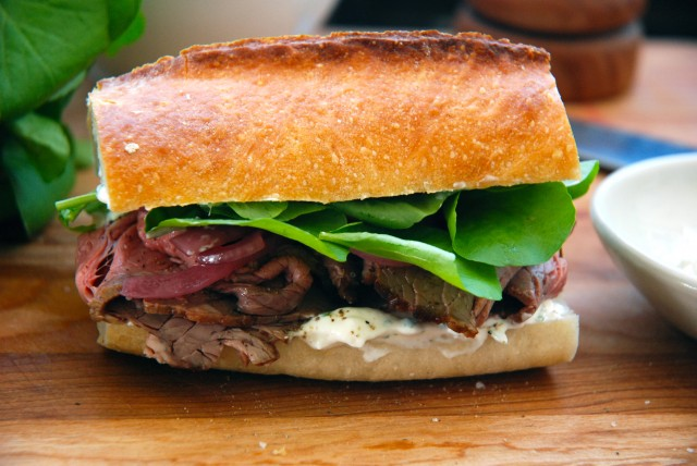Roast Beef With Pickled Horseradish Recipes — Dishmaps