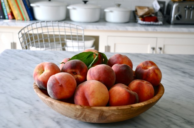 Peaches from the Farmer's market