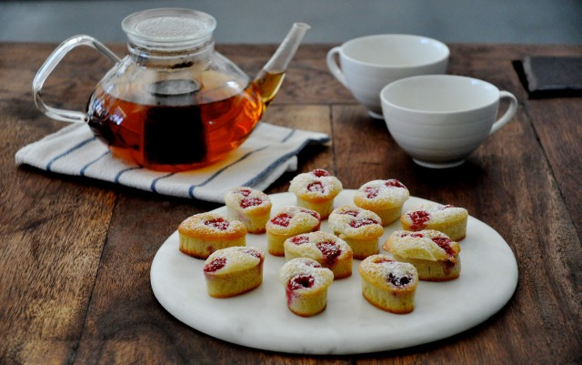 Friands and tea