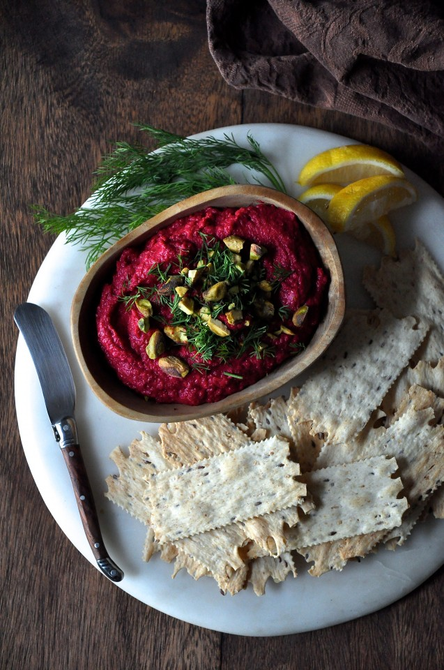 Smoky Beetroot Hummus