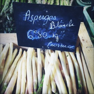 Asperges Blanche