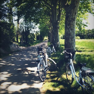 Biking near Aix