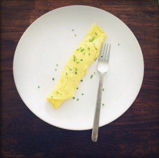 Amy's French omelette